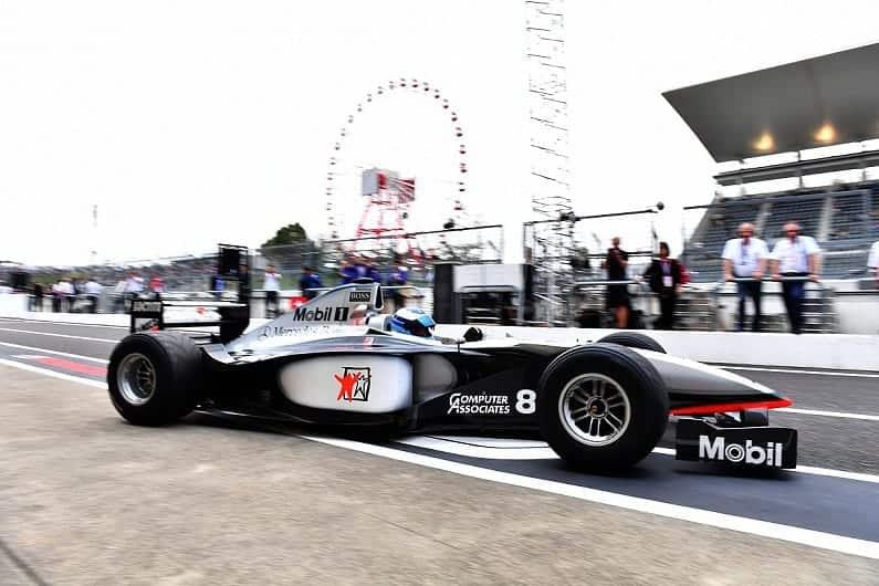Hakkinen McLaren MP4-13 Suzuka Japanese GP F1 2018