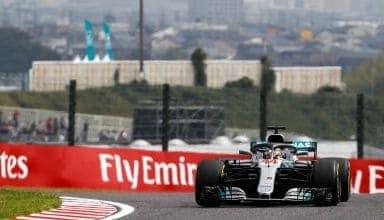 Hamilton Japanese GP F1 2018 Suzuka top of the hill Photo Daimler