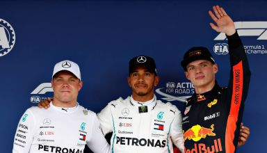 Japanese GP F1 2018 qualifying top3 Hamilton Bottas Verstappen Photo Red Bull