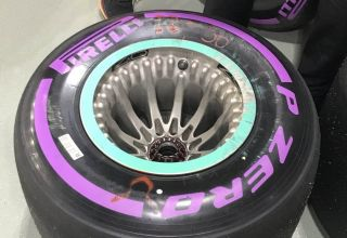 Mercedes W09 rear wheel design Austin US GP F1 2018 Photo Daimler