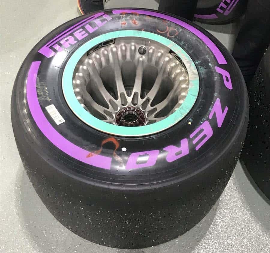 Mercedes W09 rear wheel design Austin US GP F1 2018 Photo Daimler