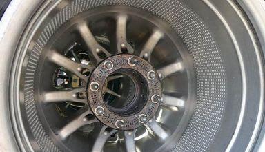 Mercedes W09 rear wheel design Mexican GP F1 2018 Photo AMuS