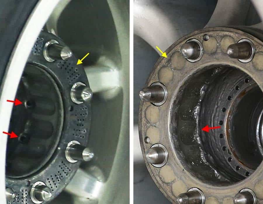 Mercedes W09 rear wheel design closed holes Photo F1It