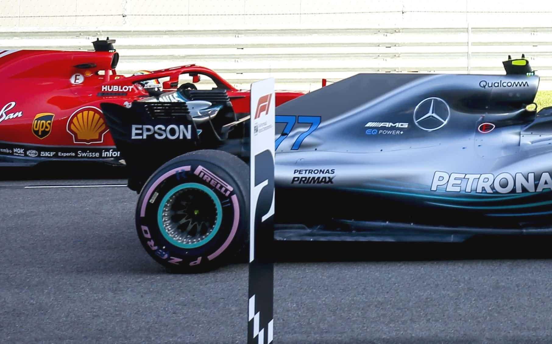 Mercedes W09 rear wheels heat sink Russian GP F1 2018 Photo Daimler edited by MAXF1net