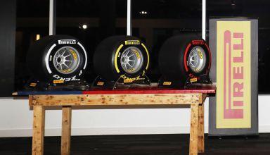 Pirelli F1 2019 tyre range