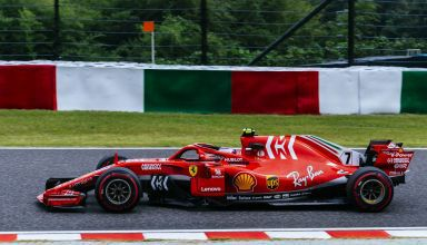 Raikkonen Ferrari Japanese GP F1 2018 Photo Ferrari