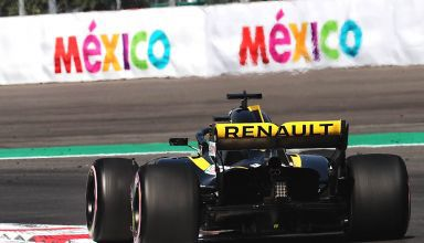 Renault RS18 Mexican GP F1 2018 rear end hypersoft Photo Renault MAXF1net