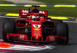 Sebastian Vettel Ferrari SF71H Mexican GP F1 2018 front zoom Photo Ferrari