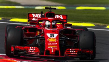 Sebastian Vettel Ferrari SF71H Mexican GP F1 2018 front zoom Photo Ferrari