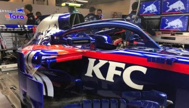 Toro Rosso STR13 Honda USA GP F1 2018 sidepod deflectors Photo Red Bull