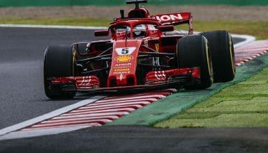 Vettel Ferrari Japanese GP F1 2018 Photo Ferrari