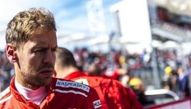 Vettel Ferrari US GP F1 2018 Photo Ferrari