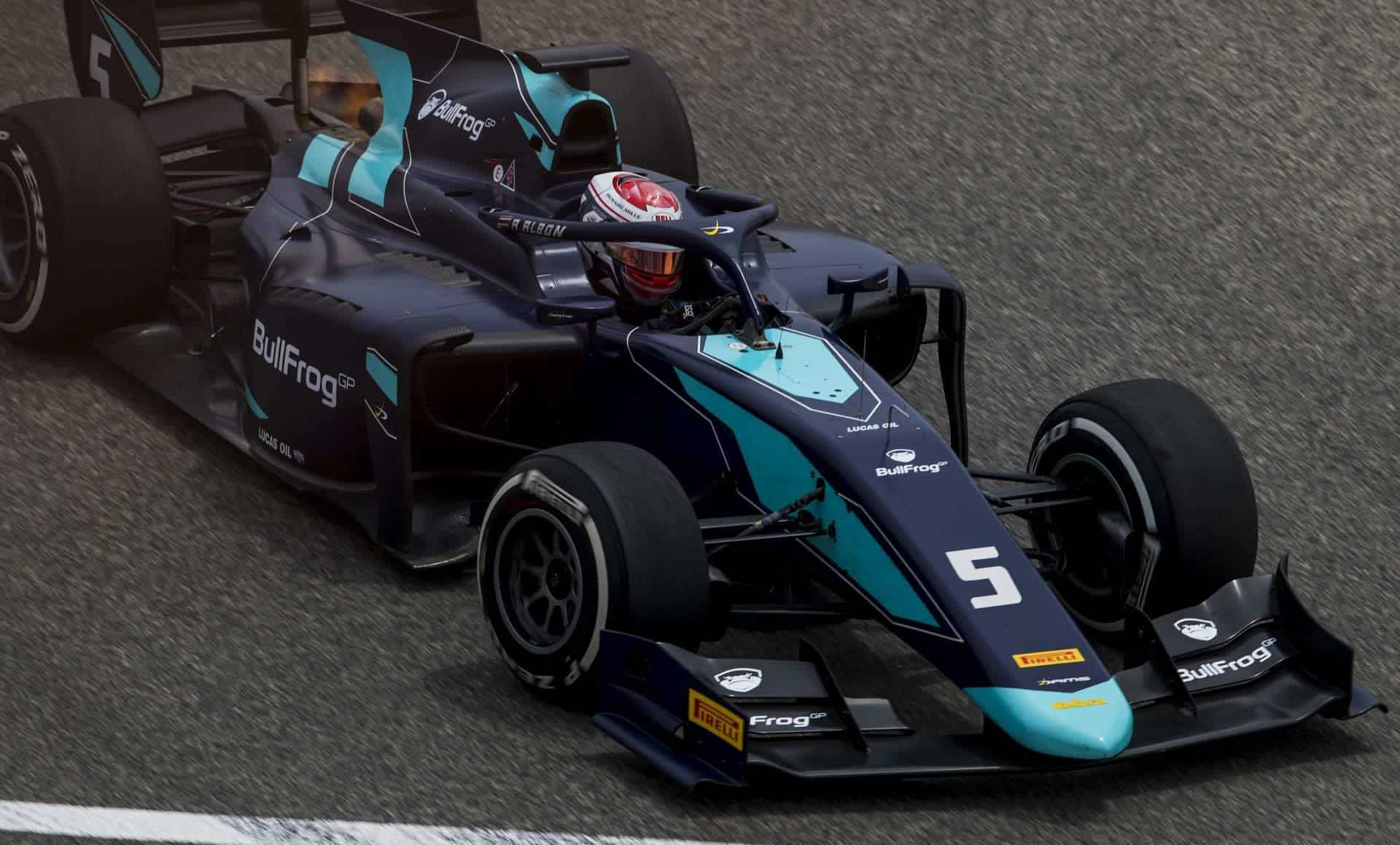 Alexander Albon F2 2018 Bahrain