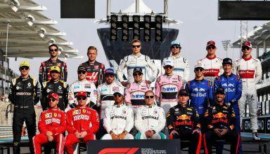 F1 drivers 2018 Abu Dhabi final GP of the season