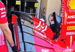 Ferrari SF71H front wing without cascades Abu Dhabi GP F1 2018 Photo Ferrari
