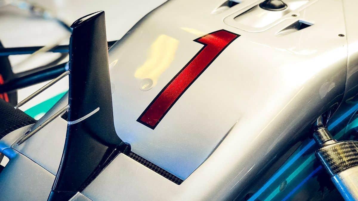 Hamilton Mercedes F1 2018 Number 1 Abu Dhabi GP Photo Daimler
