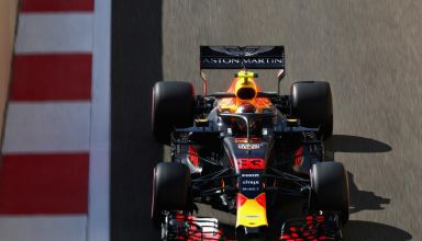 Max Verstappen Red Bull RB14 Abu Dhabi GP F1 2018 Photo Red Bull