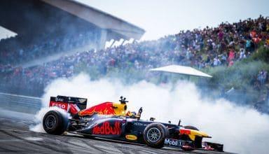 Max Verstappen Zandvoort F1 Red Bull demonstration Dutch GP