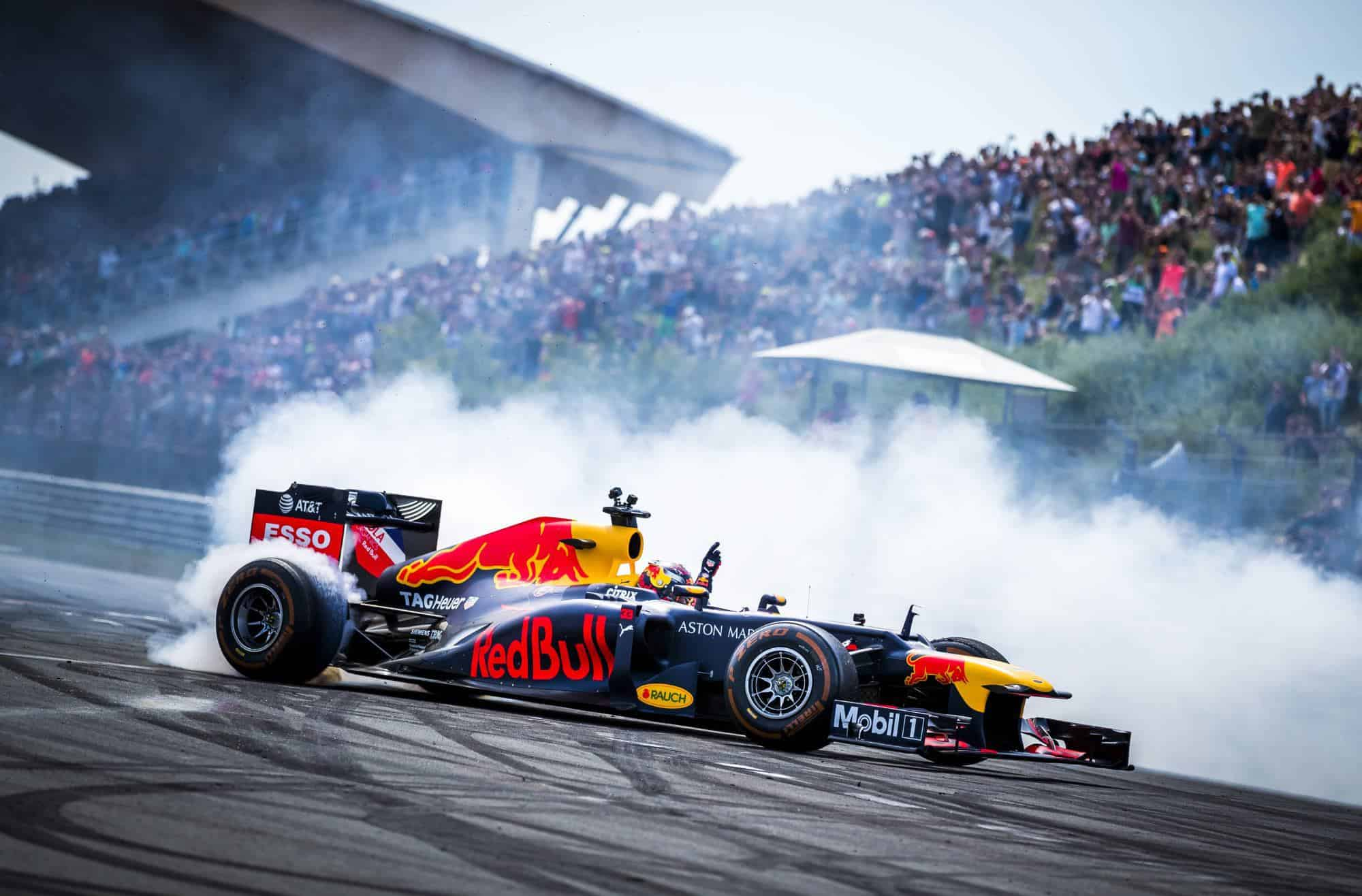 Max Verstappen Zandvoort F1 Red Bull demonstration Dutch GP