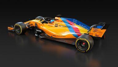 McLaren MCL33 special Alonso livery 2 Abu Dhabi GP F1 2018 Photo McLaren