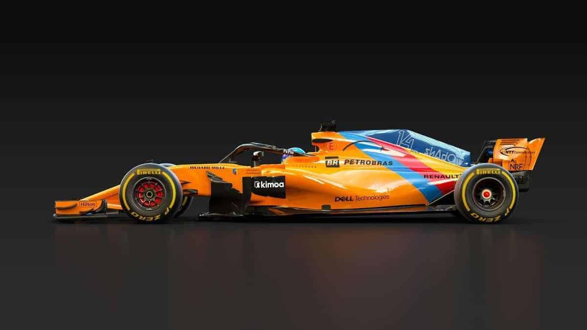 McLaren MCL33 special Alonso livery 3 Abu Dhabi GP F1 2018 Photo McLaren