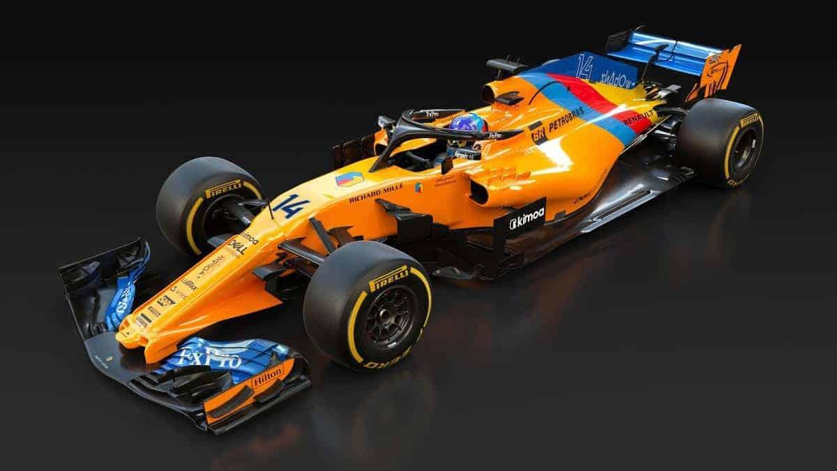McLaren MCL33 special Alonso livery Abu Dhabi GP F1 2018 Photo McLaren