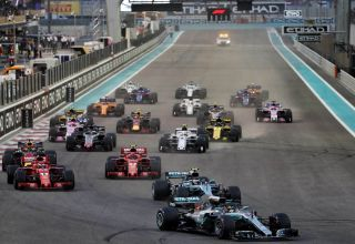 Start of the Abu Dhabi F1 2018 Photo Daimler