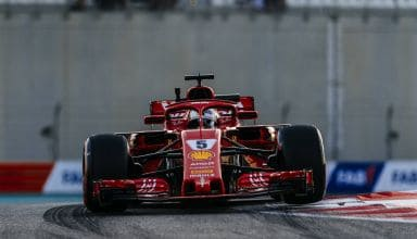 Vettel Ferrari Abu Dhabi F1 2018 Photo Ferrari