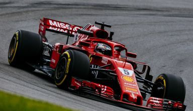 Vettel Ferrari SF71H Brazilian GP F1 2018 soft Pirelli Photo Ferrari