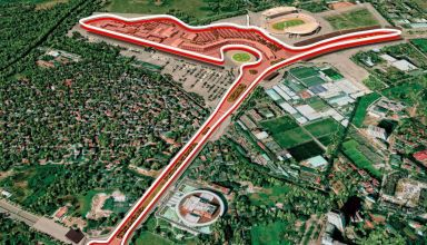 Vietnam GP F1 2020 track layout