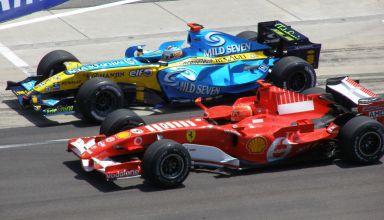 Alonso Schumacher F1 2006 duel