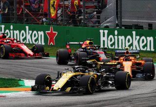 Hulkenberg Renault McLaren Red Bull Ferrari 2018 Italian GP Photo Renault Sport