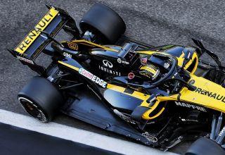 Renault RS18 Abu Dhabi post season F1 2018 test Photo Renault