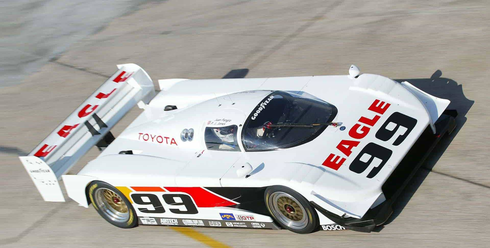 Eagle-Toyota MkIII on track