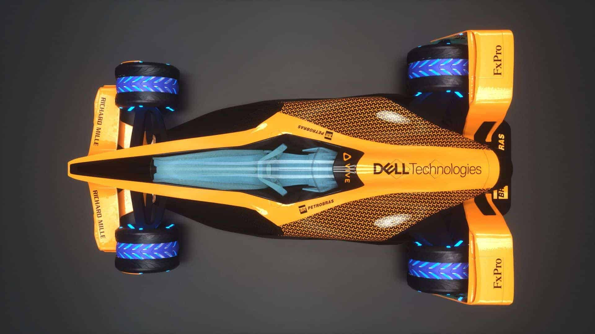 MCLExtreme Future Grand Prix F1 2050 top Photo McLaren