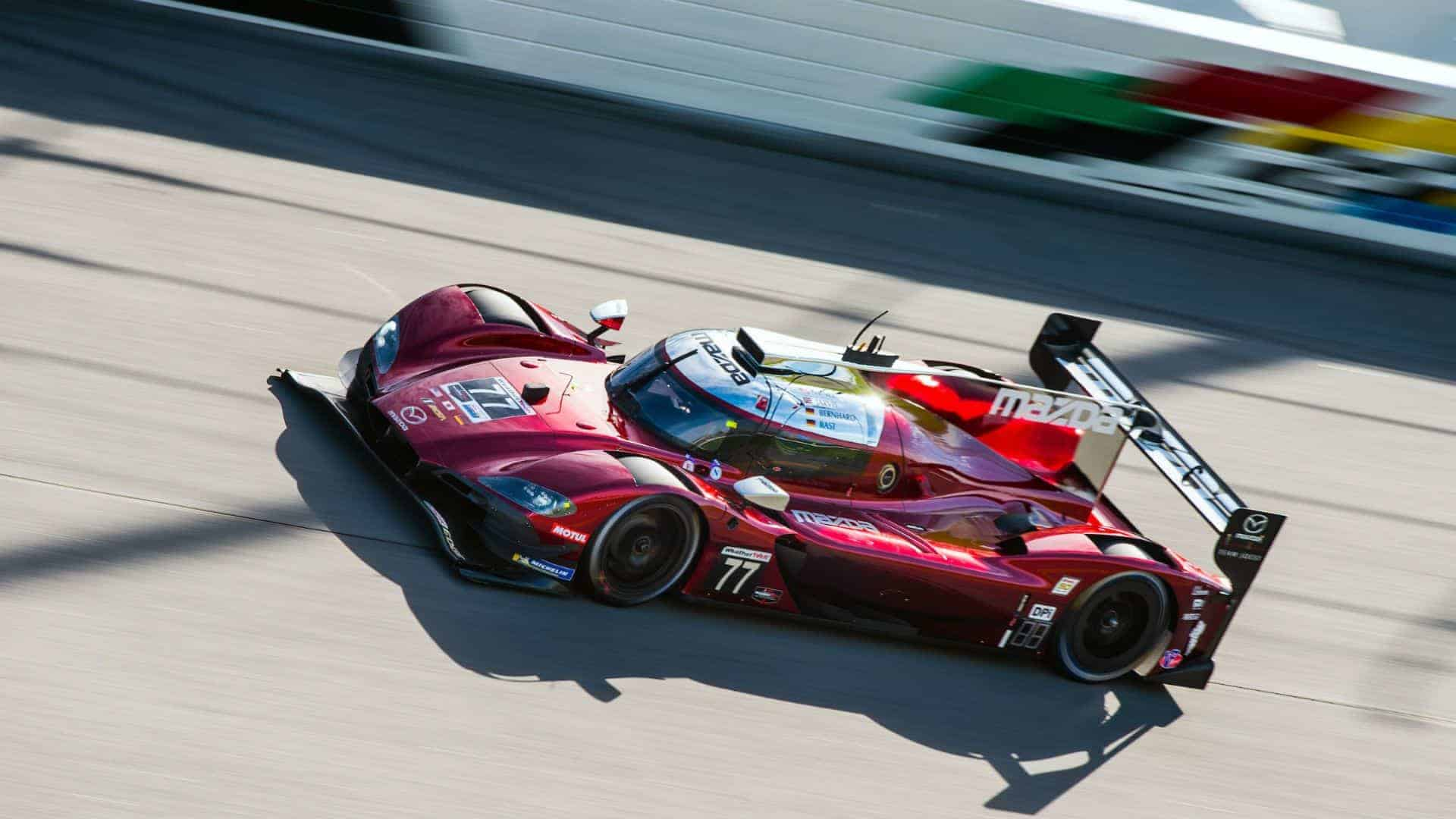 Mazda Team Joest Daytona 24h pole position IMSA 2019