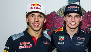 Pierre Gasly Max Verstappen Red Bull F1 2018 Photo Red Bull