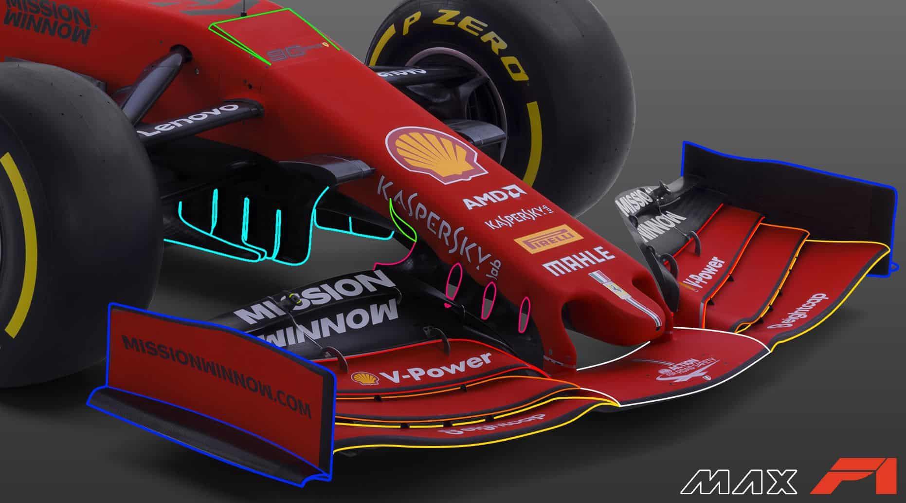 2019-F1-Ferrari-SF90-front-wing-detail-u