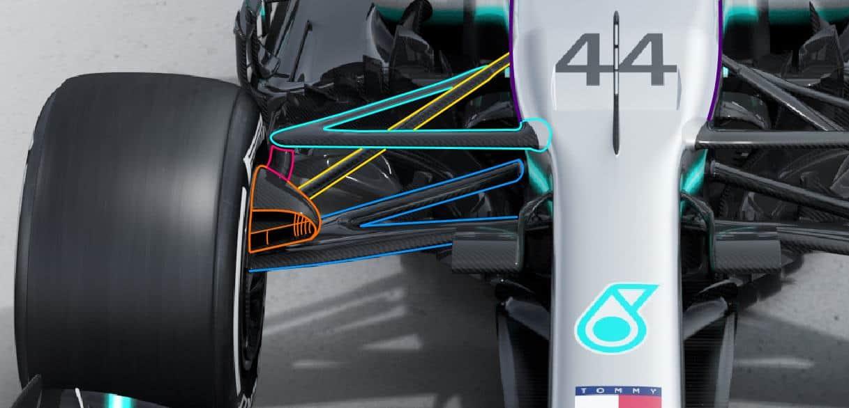 Technical analysis – 2019 F1 Mercedes F1 W10 EQ Power +