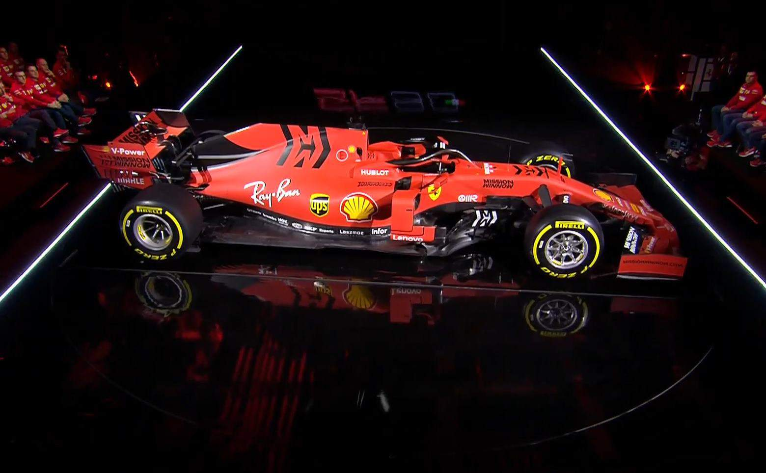 2019 Ferrari SF90H Photo Ferrari side angle live presentation