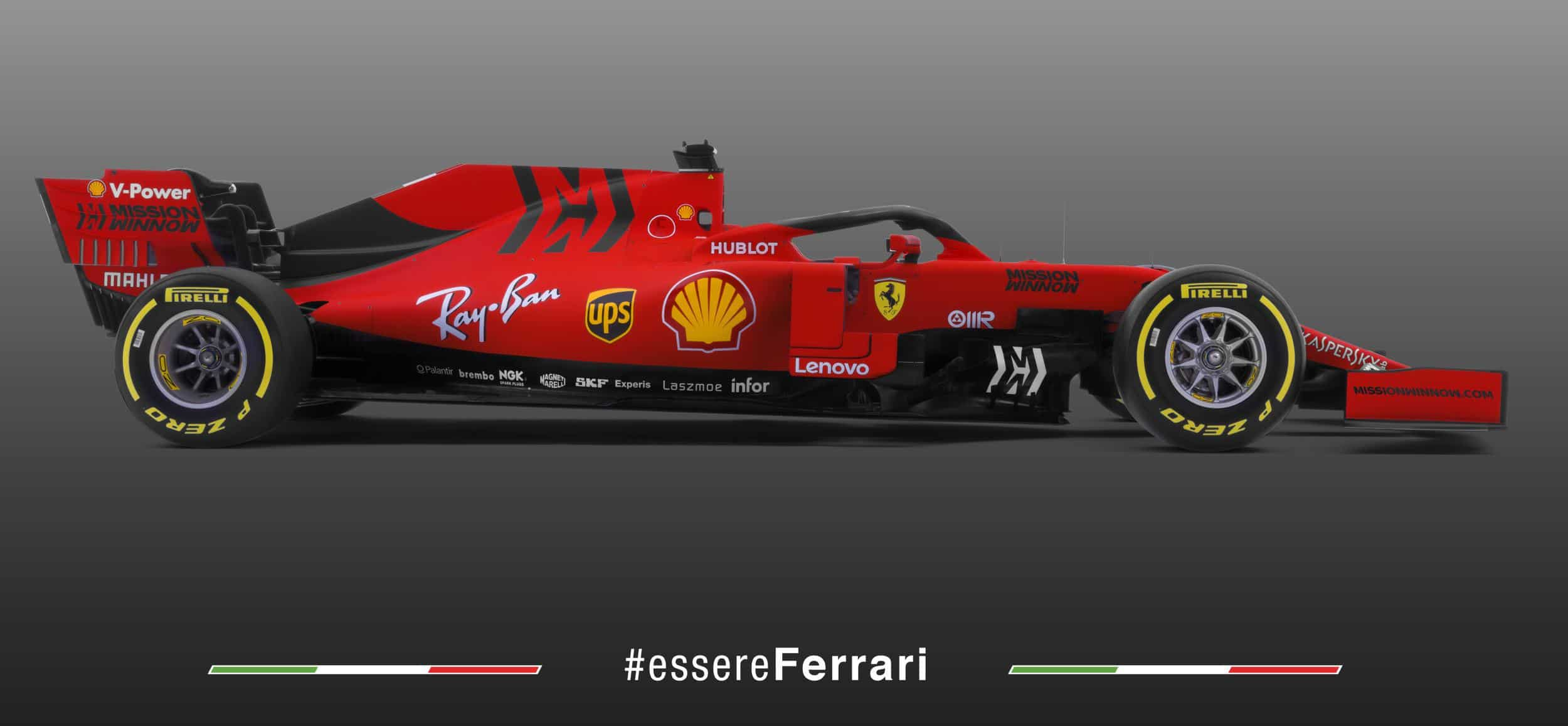 2019 Ferrari SF90 studio photo right side Photo Ferrari