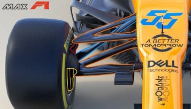 2019 McLaren MCL34 front suspension Photo McLaren Edited by MAXF1net