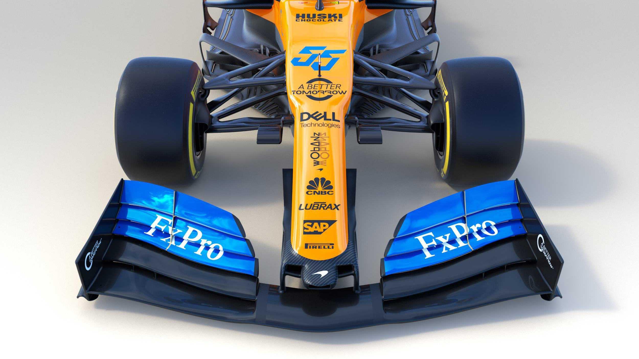 2019 McLaren MCL34 studio photo front top Photo McLaren