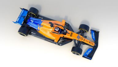 2019 McLaren MCL34 studio photo top Sainz Photo McLaren