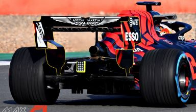 2019 Red Bull RB15 Honda launch pictures rear wing diffuser rear end exhaust Photo Red Bull Edited by MAXF1net