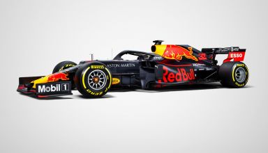 2019 Red Bull RB15 launch studio photos racing livery side Photo Red Bull