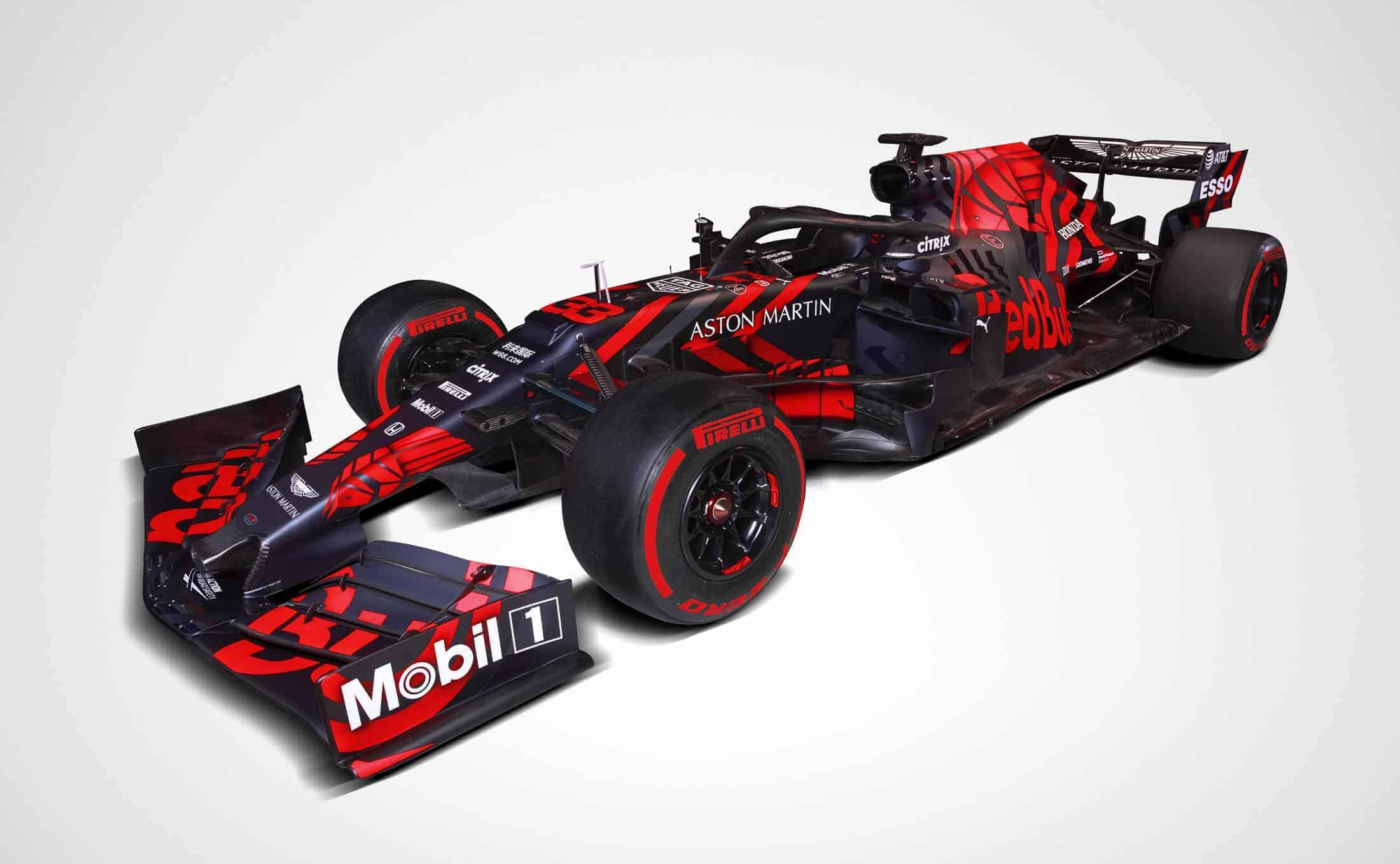 2019 Red Bull RB15 studio photo side Photo Red Bull