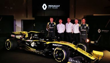 2019 Renault F1 presentation Photo Renault edited by MAXF1net