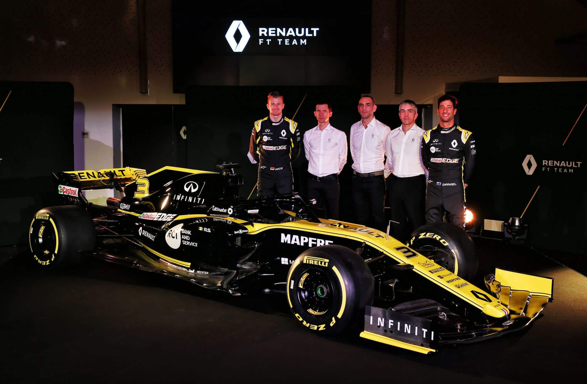 2019 Renault F1 presentation Photo Renault edited by MAXF1net