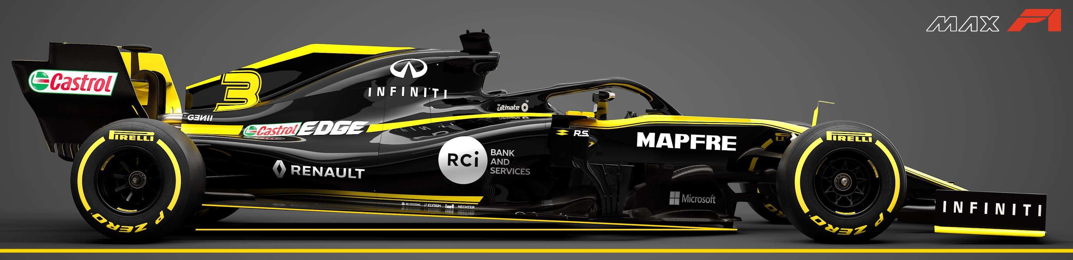 2019 Renault RS19 side view big rake edited by MAXF1net